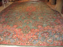 Antique Persian Kerman  12 x 18  SOLD