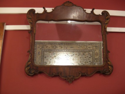19th c Chippendale- Style Mirror