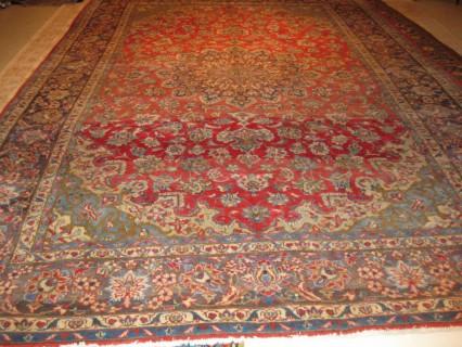Semi-Antique Persian Kashan  8 x 11.5    SOLD