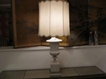 Large Classical Bisque Lamp