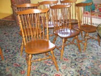 Set of 6 Windsor Chairs