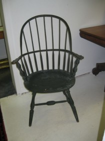 New England Sack Back Style Windsor Chair