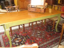 Handcrafted Farm Table