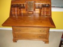 Chippendale-Style Slant Front Desk