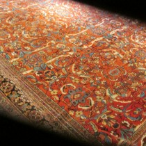 Antique Persian Sultanabad  12.4 x 16.11
