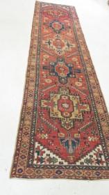 Antique Persian Heriz  2.10 x 11