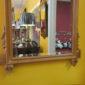 Mid 20th c Fruitwood Mirror