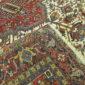 Antique Persian Heriz 10.3 x 20