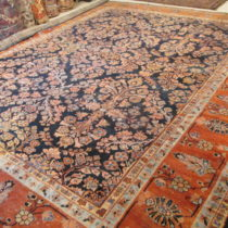 Antique Persian Sultanabad  11 x 13.6  SOLD