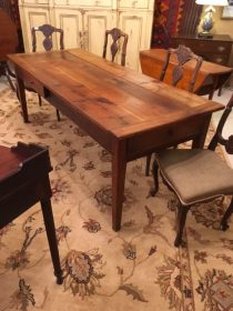 Mid 19th c French Farm Table   SOLD