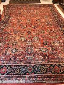 Antique Persian Sultanabad 11 x 15.8