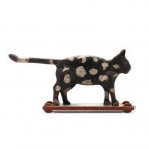 Early 20th c Hand Carved Cat Pull   SOLD
