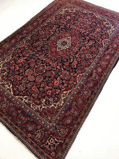 Antique Persian Kashan  4.5 x 6.11