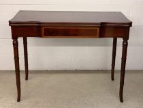 Mahogany Federal Style Extension Game Table