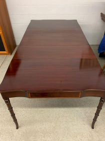 Early 20th c Federal-Style Mahogany Dining Table