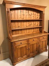 English Pine Welsh Dresser      SOLD