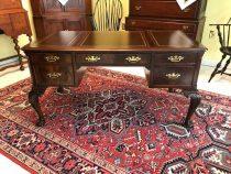 Georgian Style Mahogany Leather top desk  SALE PENDING