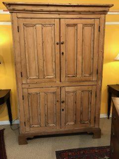 19th c Irish Pine Cupboard