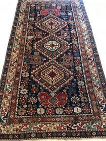 Antique Caucasian Shirvan  4.6 x 8.3