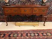 Early 20th c  Queen Anne Mahogany Sideboard