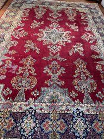 Antique Persian Kerman  11.6 x 16