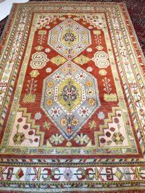 Antique Turkish Oushak  5.8 x 8.6